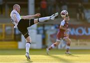 21 June 2021; Chris Shields of Dundalk during the SSE Airtricity League Premier Division match between Drogheda United and Dundalk at Head in the Game Park in Drogheda, Louth. Photo by Piaras Ó Mídheach/Sportsfile