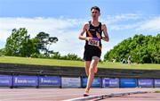 19 June 2021; Ben Guiden of Clonliffe Harriers AC, Dublin, competing in the Under 23 Men's 5000m during day one of the Irish Life Health Junior Championships & U23 Specific Events at Morton Stadium in Santry, Dublin. Photo by Sam Barnes/Sportsfile
