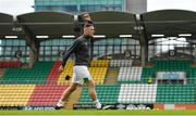 25 June 2021; Shamrock Rovers trialist Anthony Stokes before the SSE Airtricity League Premier Division match between Shamrock Rovers and Drogheda United at Tallaght Stadium in Dublin. Photo by Seb Daly/Sportsfile