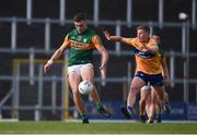 26 June 2021; David Clifford of Kerry in action against Padraic Collins of Clare during the Munster GAA Football Senior Championship Quarter-Final match between Kerry and Clare at Fitzgerald Stadium in Killarney, Kerry. Photo by Dáire Brennan/Sportsfile
