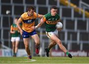 26 June 2021; David Clifford of Kerry in action against Cillian Brennan of Clare during the Munster GAA Football Senior Championship Quarter-Final match between Kerry and Clare at Fitzgerald Stadium in Killarney, Kerry. Photo by Dáire Brennan/Sportsfile
