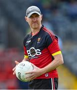 27 June 2021; Down manager Paddy Tally during the Ulster GAA Football Senior Championship Preliminary Round match between Down and Donegal at Páirc Esler in Newry, Down. Photo by Ramsey Cardy/Sportsfile