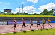 27 June 2021; A general view during the Men's 10000m during day three of the Irish Life Health National Senior Championships at Morton Stadium in Santry, Dublin. Photo by Sam Barnes/Sportsfile