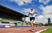 27 June 2021; Kate Veale of West Waterford AC, on her way to winning the Women's 5000m Walk  during day three of the Irish Life Health National Senior Championships at Morton Stadium in Santry, Dublin. Photo by Sam Barnes/Sportsfile