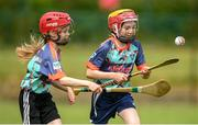 28 June 2021; Grainne O'Brien, age 10, and Rachel McAuliffe, age 10, were on hand in Bruff GAA Club, Limerick to mark the first day of this year's Kellogg's GAA Cúl Camps with numbers of over 130,000 expected to attend across 1,242 camps the length and breadth of the country. The 2021 Kellogg's GAA Cúl Camps offers children a healthy, fun and safe summer outdoor activity at locations nationwide, and will continue until the end of August. Photo by Stephen McCarthy/Sportsfile