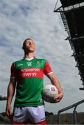 29 June 2021; Summer 2021 is officially on! Mayo footballer Ryan O'Donoghue pictured today at AIB's launch of the 2021 GAA All-Ireland Senior Football Championship. O'Donoghue was in attendance at the launch alongside Pádraig Faulkner, Kingscourt Stars and Cavan, Conor Sweeney, Ballyporeen and Tipperary, Daniel Flynn, Johnstownbridge and Kildare, and Paul Donaghy, Dungannon Thomas Clarkes and Tyrone, as AIB celebrated the return of summer football and the reignition of county rivalries nationwide ahead of some of #TheToughest games of the year. Photo by Eóin Noonan/Sportsfile