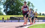 27 June 2021; Jamie Battle of Mullingar Harriers AC, Westmeath, competing in the Men's 10000m during day three of the Irish Life Health National Senior Championships at Morton Stadium in Santry, Dublin. Photo by Sam Barnes/Sportsfile