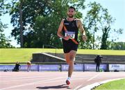 27 June 2021; Karl Nolan of Clonliffe Harriers AC, Dublin, competing in the Men's 10000m during day three of the Irish Life Health National Senior Championships at Morton Stadium in Santry, Dublin. Photo by Sam Barnes/Sportsfile