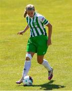 27 June 2021; Zoe Kelly of Bray Wanderers during the EA SPORTS Women's National U19 League match between Bray Wanderers and Peamount United at Carlisle Grounds in Bray, Wicklow. Photo by Michael P Ryan/Sportsfile
