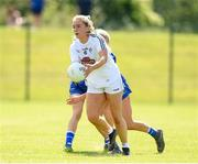 27 June 2021; Lara Gilbert of Kildare during the Lidl Ladies Football National League Division 3 Final match between Kildare and Laois at Baltinglass GAA Club in Baltinglass, Wicklow. Photo by Matt Browne/Sportsfile