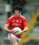 27 June 2021; Liam Jackson of Louth during the Leinster GAA Football Senior Championship Round 1 match between Louth and Offaly at Páirc Tailteann in Navan, Meath. Photo by David Fitzgerald/Sportsfile