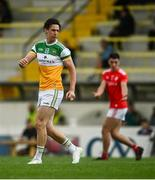 27 June 2021; Niall McNamee of Offaly during the Leinster GAA Football Senior Championship Round 1 match between Louth and Offaly at Páirc Tailteann in Navan, Meath. Photo by David Fitzgerald/Sportsfile
