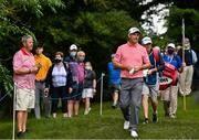 1 July 2021; Padraig Harrington of Ireland walks to the 15th tee box during day one of the Dubai Duty Free Irish Open Golf Championship at Mount Juliet Golf Club in Thomastown, Kilkenny. Photo by Ramsey Cardy/Sportsfile