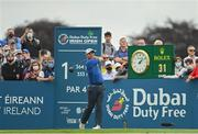 2 July 2021; Padraig Harrington of Ireland watches his tee shot from the first tee box during day two of the Dubai Duty Free Irish Open Golf Championship at Mount Juliet Golf Club in Thomastown, Kilkenny. Photo by Ramsey Cardy/Sportsfile