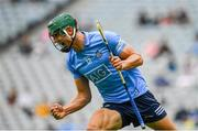 3 July 2021; Chris Crummey of Dublin celebrates after scoring his side's first goal during the Leinster GAA Hurling Senior Championship Semi-Final match between Dublin and Galway at Croke Park in Dublin. Photo by Seb Daly/Sportsfile