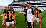 3 July 2021; Kilkenny manager Brian Cody celebrates with James Bergin after their side's victory in the Leinster GAA Hurling Senior Championship Semi-Final match between Kilkenny and Wexford at Croke Park in Dublin. Photo by Piaras Ó Mídheach/Sportsfile