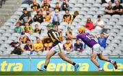 3 July 2021; Eoin Cody of Kilkenny in action against Kevin Foley of Wexford during the Leinster GAA Hurling Senior Championship Semi-Final match between Kilkenny and Wexford at Croke Park in Dublin. Photo by Seb Daly/Sportsfile
