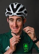 30 June 2021; Eddie Dunbar was one of three road cyclists named to compete for Team Ireland in Tokyo. The team also consists of two time Olympians and cousins Nicolas Roche and Dan Martin. Photo by Seb Daly/Sportsfile