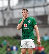 3 July 2021; Chris Farrell of Ireland during the International Rugby Friendly match between Ireland and Japan at Aviva Stadium in Dublin. Photo by David Fitzgerald/Sportsfile
