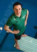 6 July 2021; Team Ireland diver Oliver Dingley has been officially selected to compete in the Olympic Games in Tokyo. He competes in the Men's 3m Springboard in the Tokyo Aquatics Centre from the 2 – 3 August. This will be his second Olympic Games, and a first for Team Ireland, who for the first time are fielding two divers. Olympic debutant Tanya Watson will be competing in the Women's 10m Platform event from the 4 – 5 August 2021. Photo by Eóin Noonan/Sportsfile
