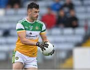 4 July 2021; Eoin Carroll of Offaly during the Leinster GAA Football Senior Championship Quarter-Final match between Kildare and Offaly at MW Hire O'Moore Park in Portlaoise, Laois. Photo by Piaras Ó Mídheach/Sportsfile