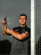 6 July 2021; Tony Kelly of Clare with his PwC GAA / GPA Player of the Month award in Hurling for June 2021 in Ballyea GAA in Clare. Photo by Eóin Noonan/Sportsfile