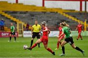 3 July 2021; Saoirse Noonan of Shelbourne during the SSE Airtricity Women's National League match between Shelbourne and Peamount United at Tolka Park in Dublin. Photo by Eóin Noonan/Sportsfile