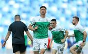 7 July 2021; Ronan Finn of Shamrock Rovers before the UEFA Champions League first qualifying found first leg match between Slovan Bratislava and Shamrock Rovers at Tehelné pole Stadium in Bratislava, Slovakia. Photo by Grega Valancic/Sportsfile