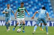 7 July 2021; Ronan Finn of Shamrock Rovers in action during the UEFA Champions League first qualifying round first leg match between Slovan Bratislava and Shamrock Rovers at Tehelné pole Stadium in Bratislava, Slovakia. Photo by Grega Valancic/Sportsfile
