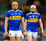 4 July 2021; Ronan Maher, left, and Brendan Maher of Tipperary during the Munster GAA Hurling Senior Championship Semi-Final match between Tipperary and Clare at LIT Gaelic Grounds in Limerick. Photo by Stephen McCarthy/Sportsfile