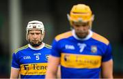 4 July 2021; Brendan Maher, left, and Ronan Maher of Tipperary during the Munster GAA Hurling Senior Championship Semi-Final match between Tipperary and Clare at LIT Gaelic Grounds in Limerick. Photo by Stephen McCarthy/Sportsfile