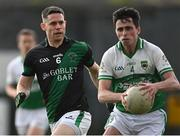 7 July 2021; Stephen Cluxton of Parnells marking Gregory Fitzsimons of O'Tooles during the Go Ahead Adult Football League Division Three North match between Parnells and O'Tooles at Parnells GAA Club in Coolock, Dublin. Photo by Piaras Ó Mídheach/Sportsfile