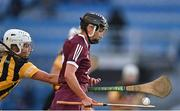 20 June 2021; Niamh Kilkenny of Galway is tackled by Meighan Farrell of Kilkenny during the Littlewoods Ireland Camogie League Division 1 Final match between Galway and Kilkenny at Croke Park in Dublin. Photo by Piaras Ó Mídheach/Sportsfile