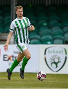 2 July 2021; Andrew Quinn of Bray Wanderers during the SSE Airtricity League First Division match between Bray Wanderers and Cobh Ramblers at Carlisle Grounds in Bray, Wicklow. Photo by Harry Murphy/Sportsfile