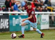 2 July 2021; Stephen O'Leary of Cobh Ramblers during the SSE Airtricity League First Division match between Bray Wanderers and Cobh Ramblers at Carlisle Grounds in Bray, Wicklow. Photo by Harry Murphy/Sportsfile