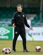 2 July 2021; Bray Wanderers coach James Keddy before the SSE Airtricity League First Division match between Bray Wanderers and Cobh Ramblers at Carlisle Grounds in Bray, Wicklow. Photo by Harry Murphy/Sportsfile