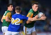 10 July 2021; David Clifford of Kerry is tackled by Jason Lonergan of Tipperary during the Munster GAA Football Senior Championship Semi-Final match between Tipperary and Kerry at Semple Stadium in Thurles, Tipperary. Photo by Piaras Ó Mídheach/Sportsfile