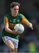 11 July 2021; Keith Evans of Kerry during the 2020 Electric Ireland GAA Football All-Ireland Minor Championship Semi-Final match between Roscommon and Kerry at LIT Gaelic Grounds in Limerick. Photo by Piaras Ó Mídheach/Sportsfile