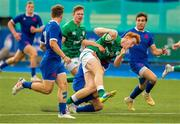 13 July 2021; Shane Jennings of Ireland during the U20 Six Nations Rugby Championship match between Ireland and France at Cardiff Arms Park in Cardiff, Wales. Photo by Mark Lewis/Sportsfile