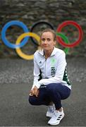 13 July 2021; Michelle Finn during a Tokyo Team Ireland Announcement for Athletics Track and Field at the Sport Ireland Conference Centre in Dublin. Photo by Ramsey Cardy/Sportsfile