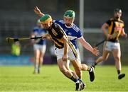 13 July 2021; Ciarán Brennan of Kilkenny in action against Niall Coss of Laois during the Leinster U20 Hurling Championship Quarter-Final match between Kilkenny and Laois at UPMC Nowlan Park in Kilkenny. Photo by Sam Barnes/Sportsfile