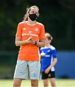 14 July 2021; Coach Hannah Tyrrell during the Bank of Ireland Leinster Rugby Summer Camp at Terenure College RFC in Dublin. Photo by Harry Murphy/Sportsfile