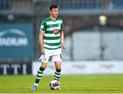 13 July 2021; Ronan Finn of Shamrock Rovers during the UEFA Champions League first qualifying round second leg match between Shamrock Rovers and Slovan Bratislava at Tallaght Stadium in Dublin. Photo by Eóin Noonan/Sportsfile