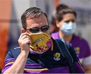 17 July 2021; Wexford manager Davy Fitzgerald arrives for the GAA Hurling All-Ireland Senior Championship Round 1 match between Clare and Wexford at Semple Stadium in Thurles, Tipperary. Photo by Piaras Ó Mídheach/Sportsfile