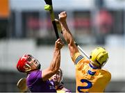 17 July 2021; Lee Chin of Wexford in action against Rory Hayes of Clare during the GAA Hurling All-Ireland Senior Championship Round 1 match between Clare and Wexford at Semple Stadium in Thurles, Tipperary. Photo by Piaras Ó Mídheach/Sportsfile