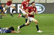 17 July 2021; Jack Conan of The British & Irish Lions on his way to scoring his side's fourth try during the British and Irish Lions Tour match between DHL Stormers and The British & Irish Lions at Cape Town Stadium in Cape Town, South Africa. Photo by Ashley Vlotman/Sportsfile