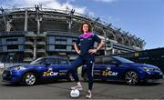 20 July 2021; ZuCar are the LGFA's new and official Performance Partner. At the conclusion of the 2021 TG4 All-Ireland Championships, winners will be presented with the ZuCar Golden Boot & ZuCar Golden Glove awards. ZuCar have also been announced as sponsors of the LGFA's Gaelic4Teens development programme. In attendance to mark the announcement at Croke Park is LGFA Gaelic4Teens ambassador Cliodhna O'Connor. Photo by Sam Barnes/Sportsfile