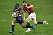17 July 2021; Robbie Henshaw of The British and Irish Lions in action against Sergeal Petersen of the DHL Stormers during the British and Irish Lions Tour match between DHL Stormers and The British & Irish Lions at Cape Town Stadium in Cape Town, South Africa. Photo by Ashley Vlotman/Sportsfile