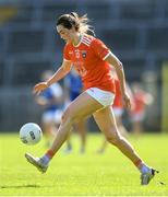 17 July 2021; Aimee Mackin of Armagh during the TG4 All-Ireland Senior Ladies Football Championship Group 2 Round 2 match between Armagh and Cavan at St Tiernach's Park in Monaghan. Photo by Ben McShane/Sportsfile