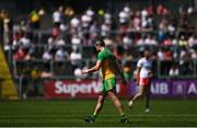 18 July 2021; Michael Murphy of Donegal makes his way off the pitch after being sent off during the Ulster GAA Football Senior Championship Semi-Final match between Donegal and Tyrone at Brewster Park in Enniskillen, Fermanagh. Photo by Ben McShane/Sportsfile